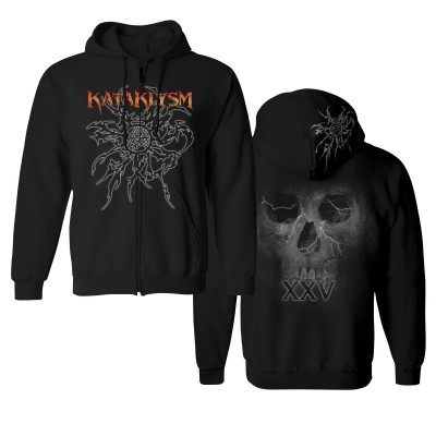 Penta Skull ZIPKP 2017 | KATAKLYSM Merch Shop