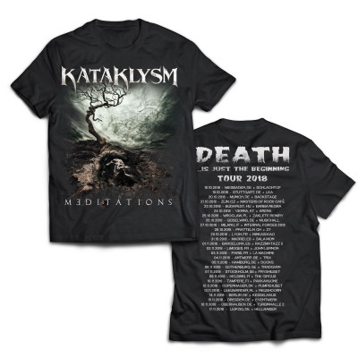 Meditations Tour 2018 | KATAKLYSM Merch Shop